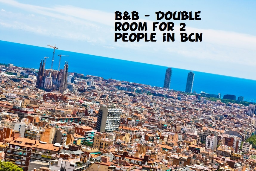 B&B Double room for 2 people in BCN