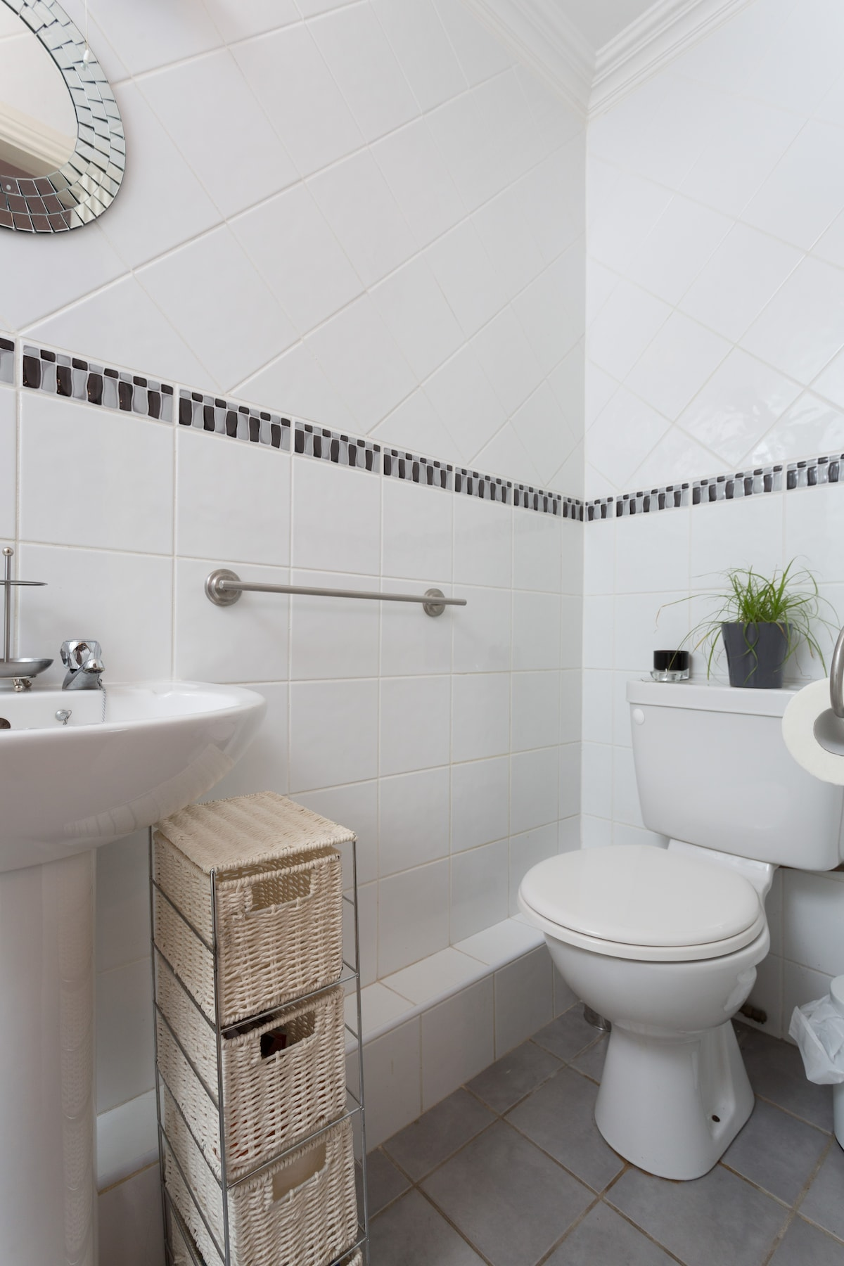 En Suite Bathroom. Experiment in how long it takes to kill a bamboo in a windowless room.