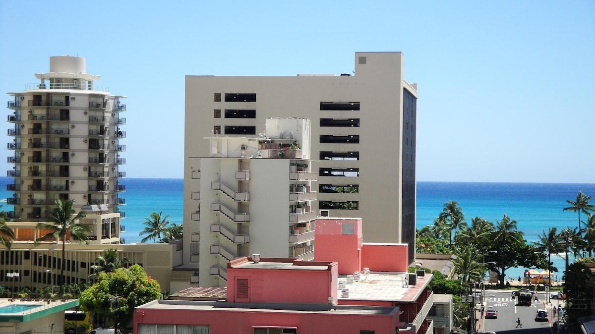 Ocean View 1 BDRM w/kitchen WPH 811