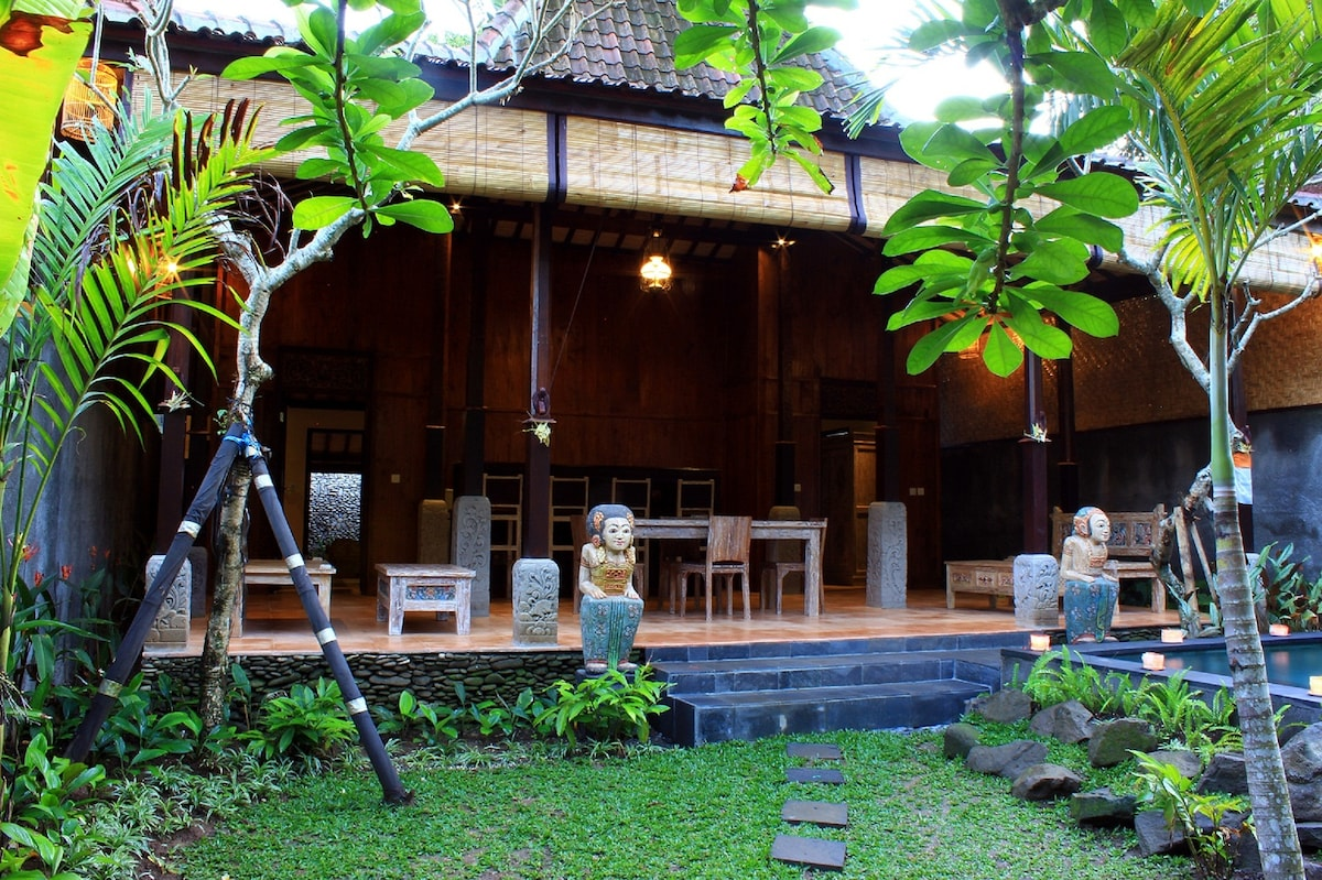 Joglo Two Bedroom Villa in Ubud