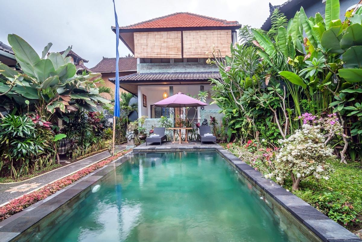 Room with Pool @Kubu Darma Ubud 1