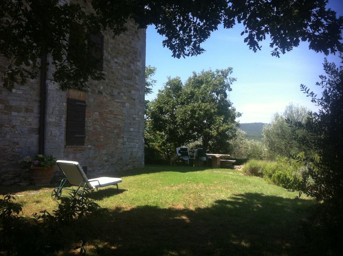 il giardino privato, relax assoluto!