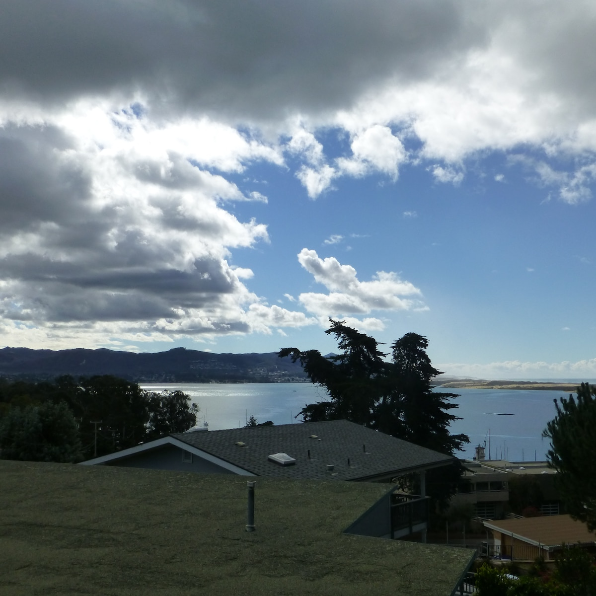 View of Estuary from deck