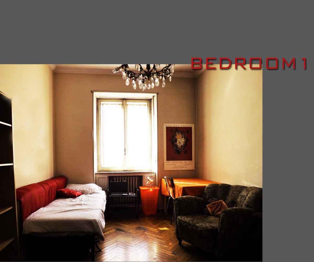 Single Room in Turin center