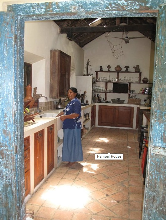 The Well Equipped kitchen with bar stools