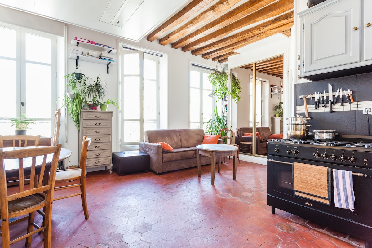 Charming apartment close Castle