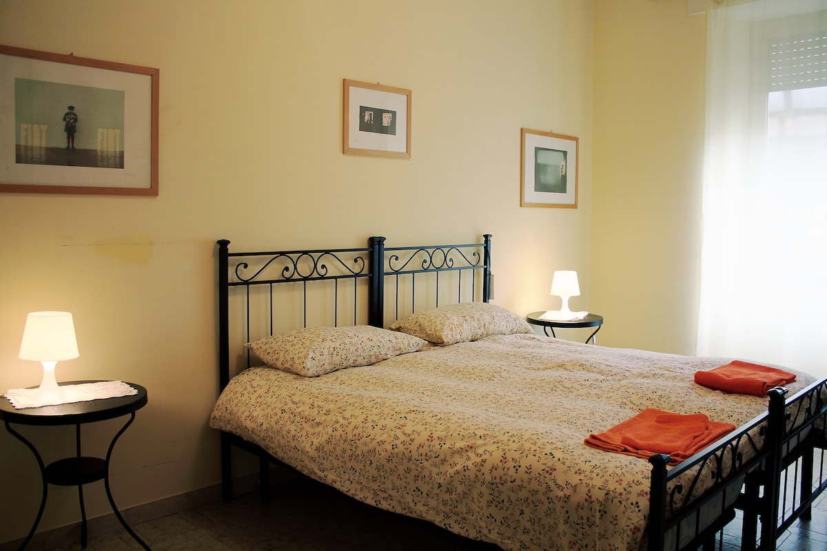 ROME 2SUPER BEDS CLIMATE&FREE WIFI