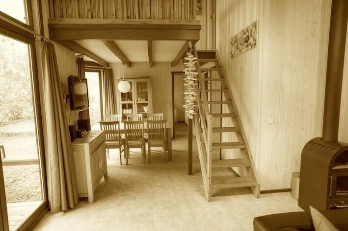 Haus mit Sauna am See