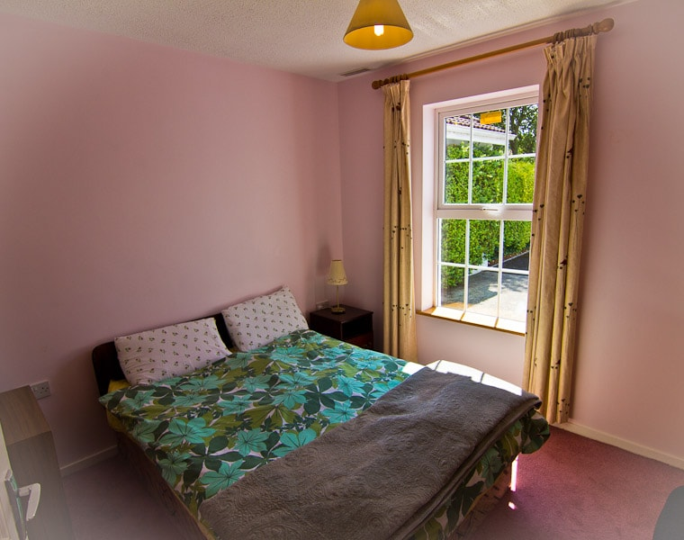 Double room to the front of the house