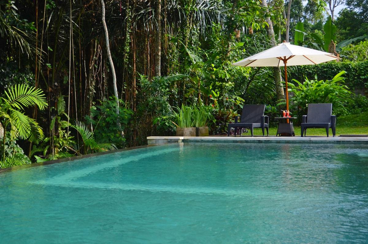 2 storey villa, Pool, Central Ubud!