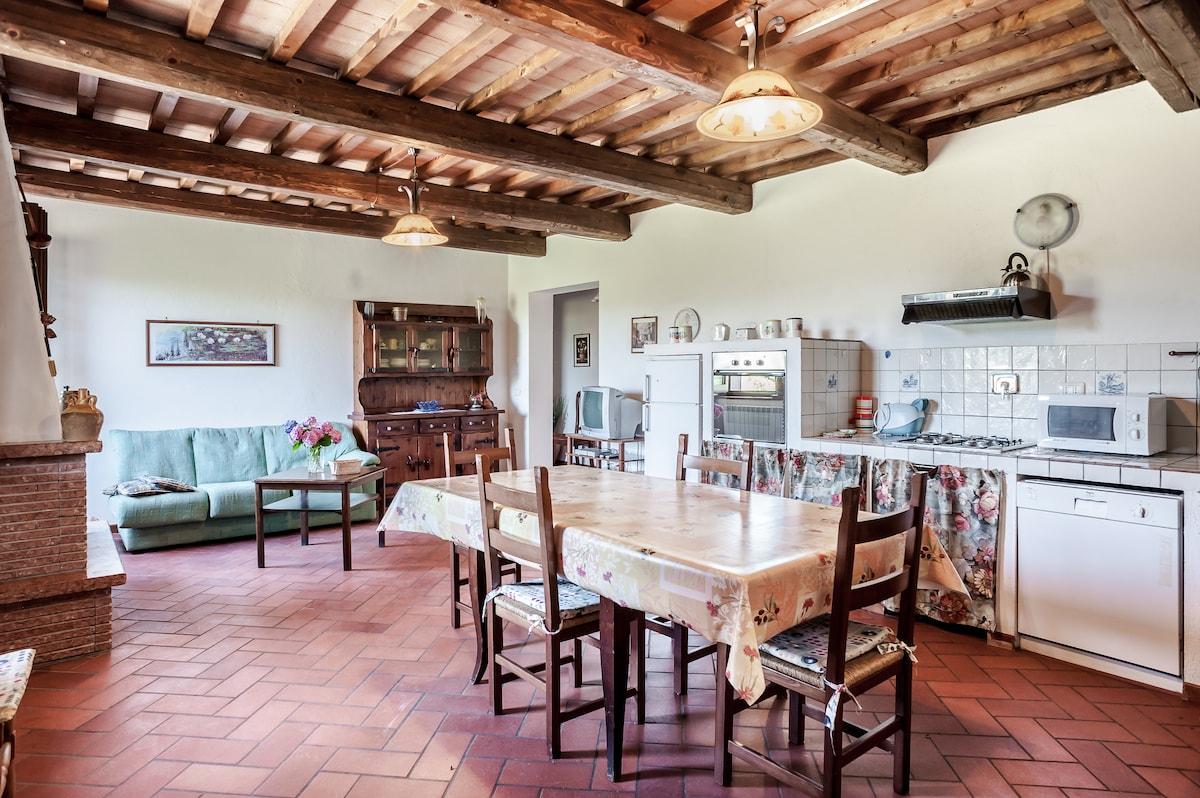 Apartment in Tuscany near Trasimeno