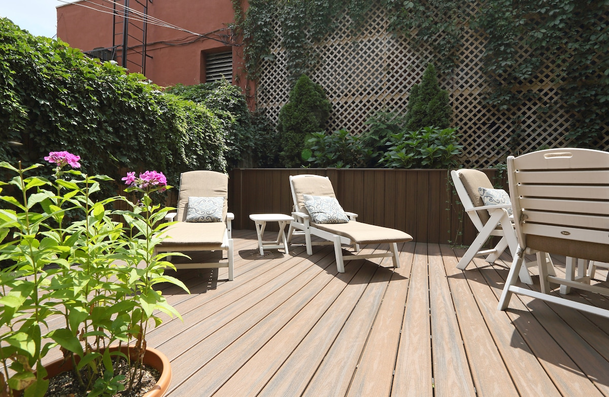 Williamsburg Garden Apartment