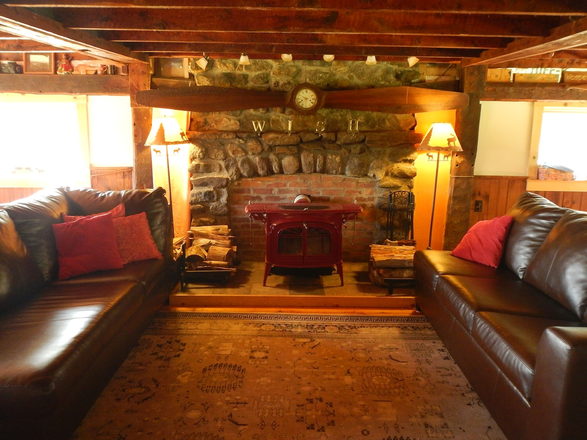 Rustic Blueberry Mountain Lodge