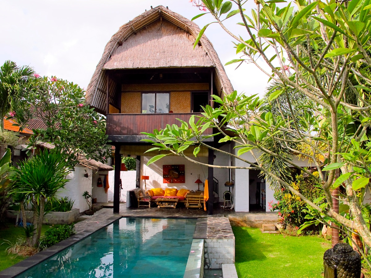 Eco House on Bali for rent!