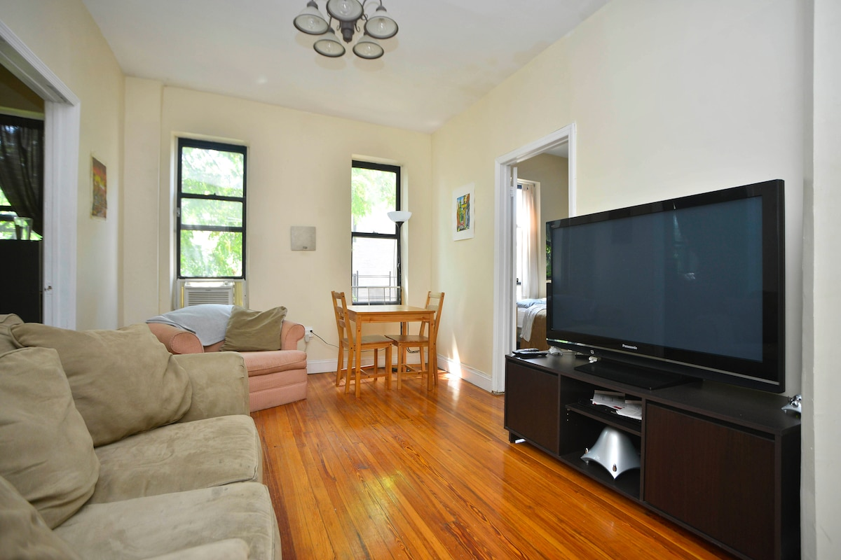 Large 2BR in great BK neighborhood