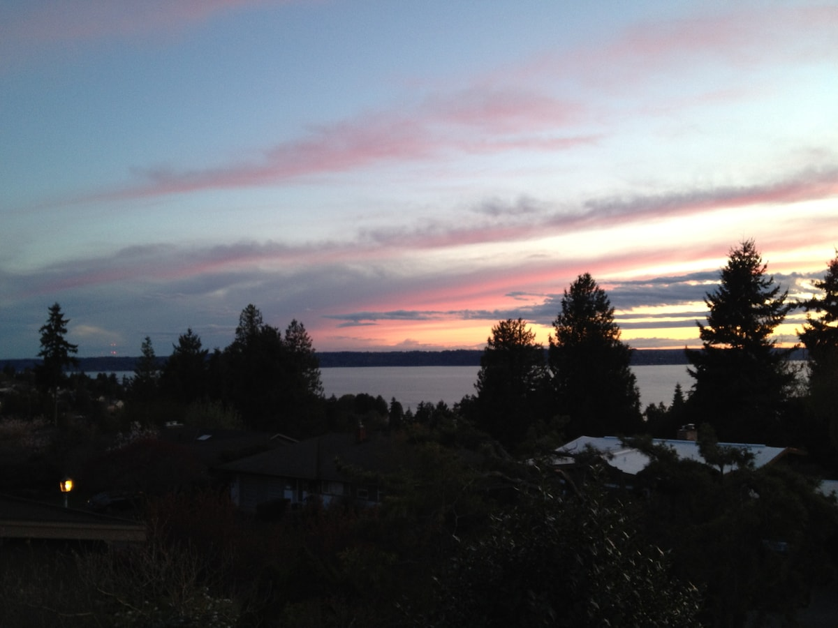 Enjoy West Seattle with Lovely View