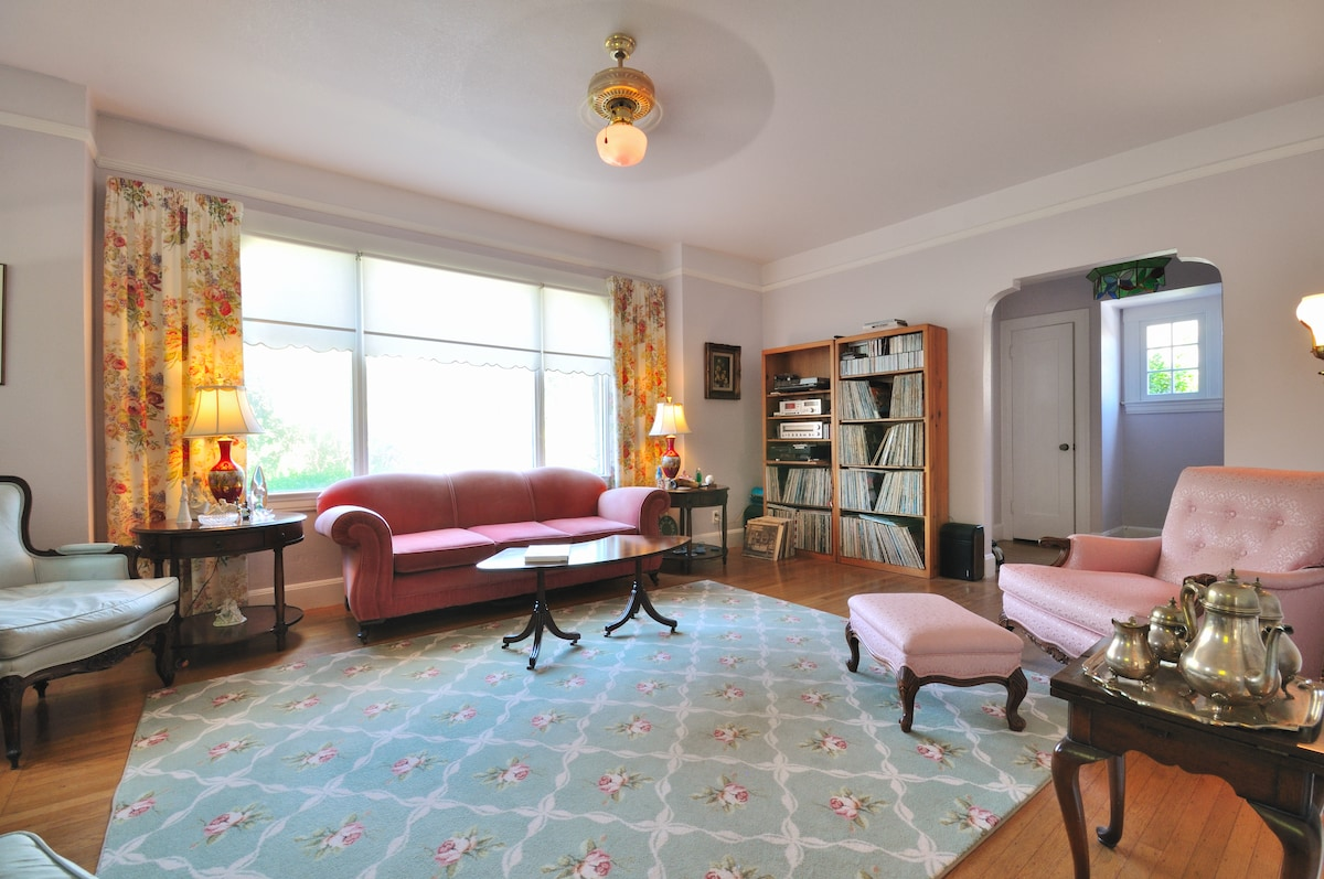 Two bedroom suite in historic home