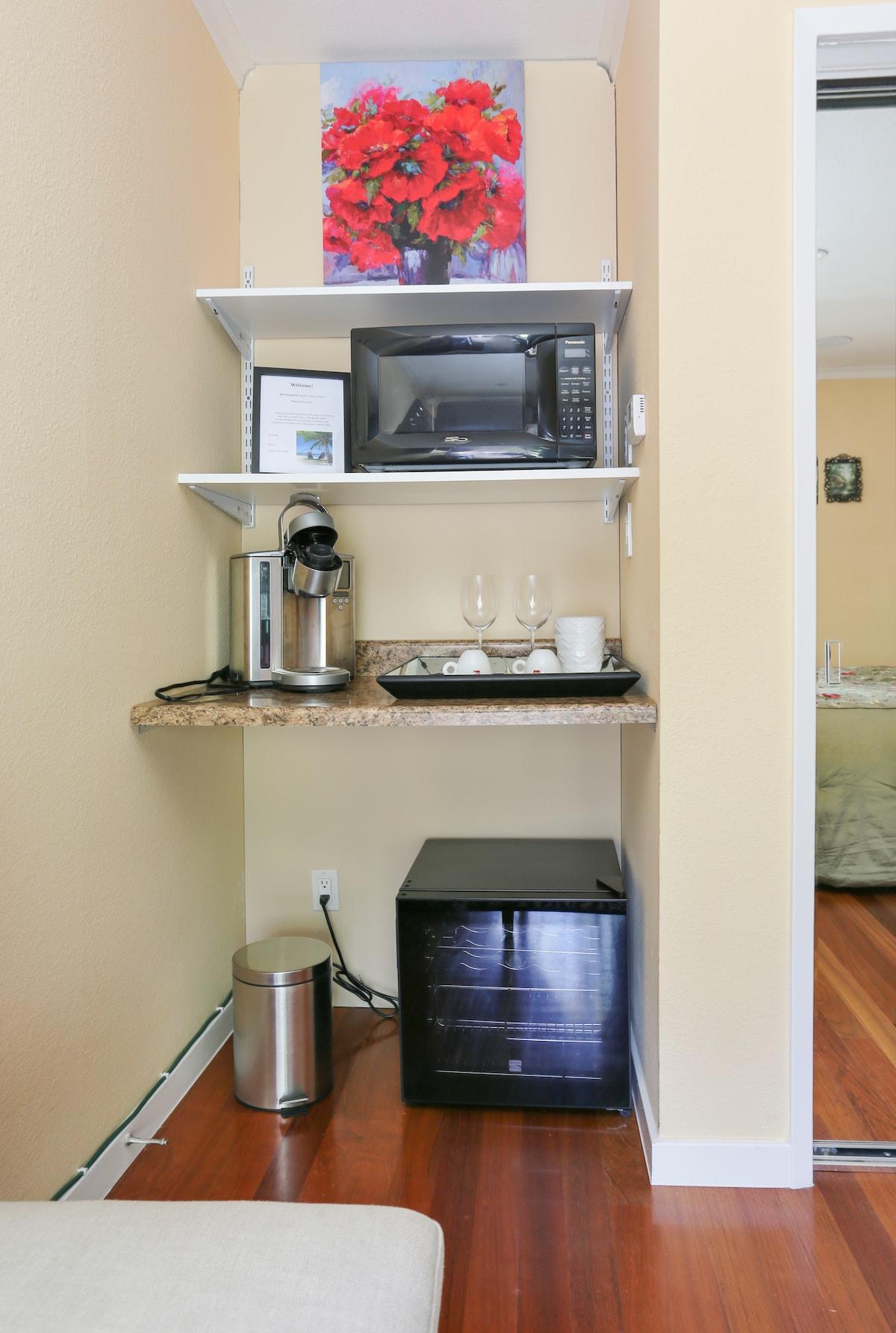 Private Suite, 3min SFO &Explore SF