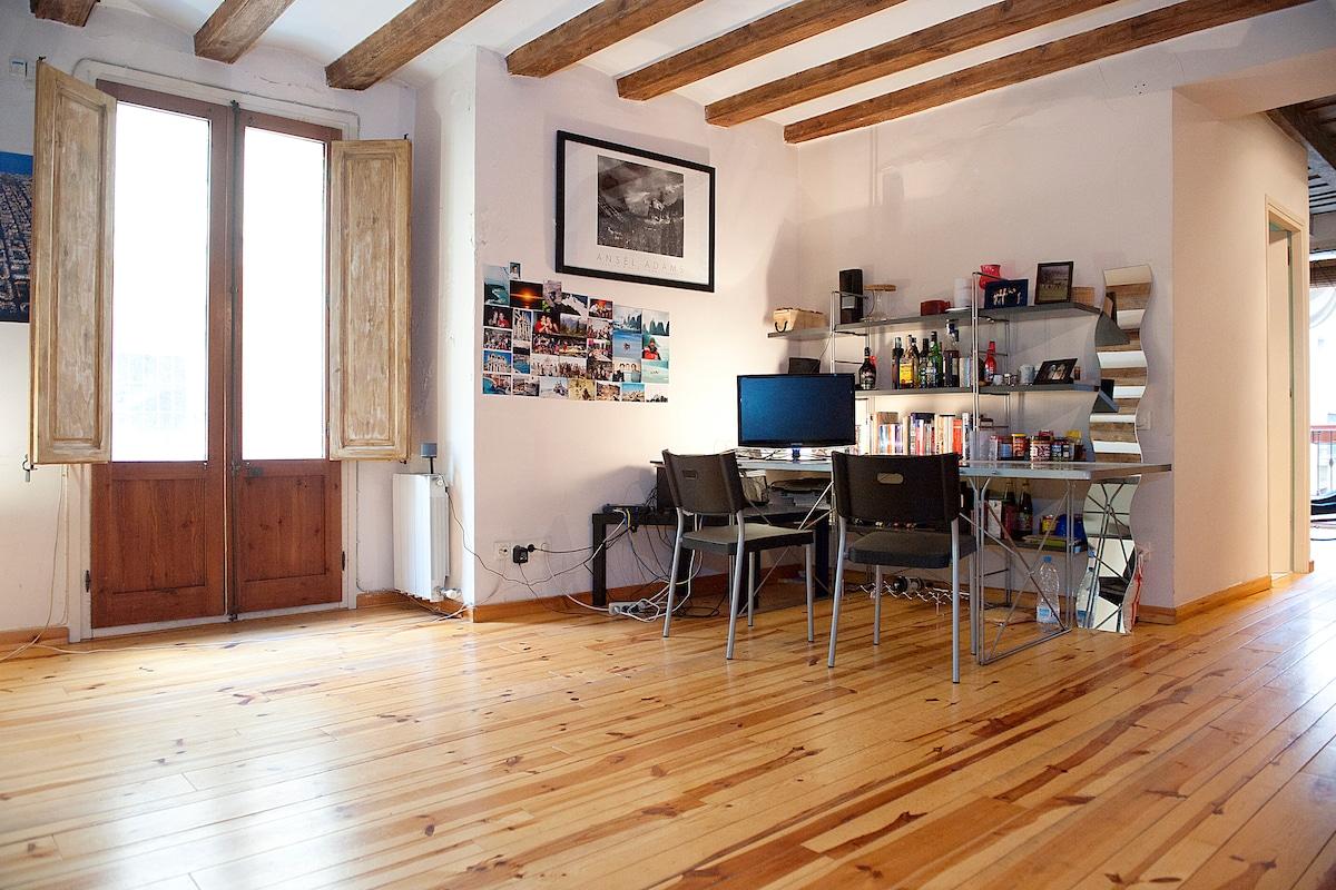 Loft apartment in the Borne