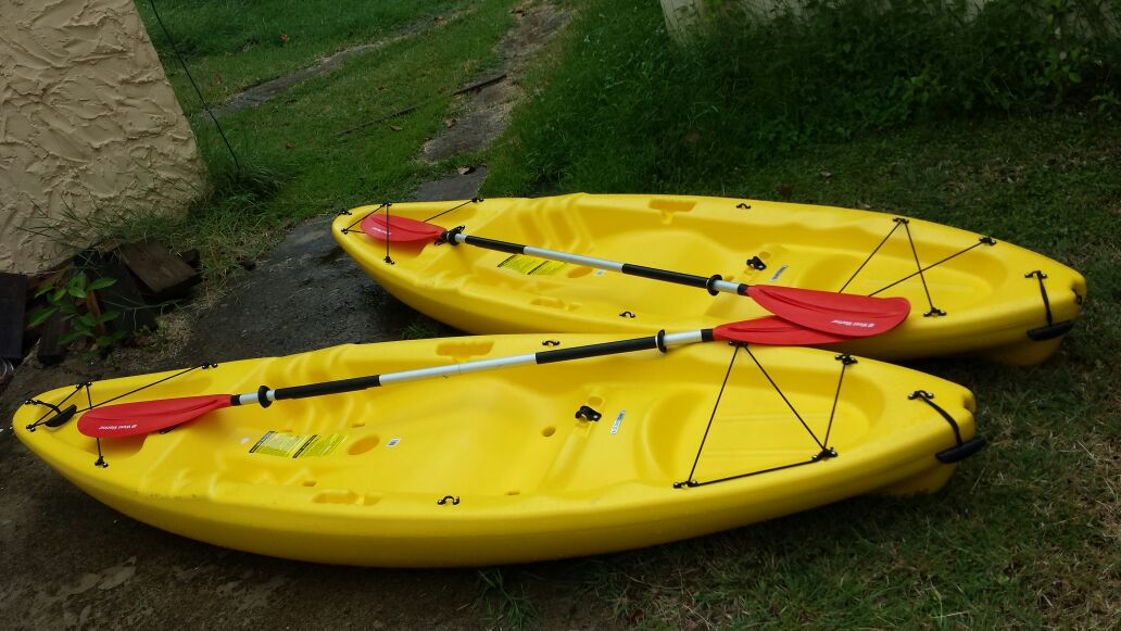 Kayaks available for rent