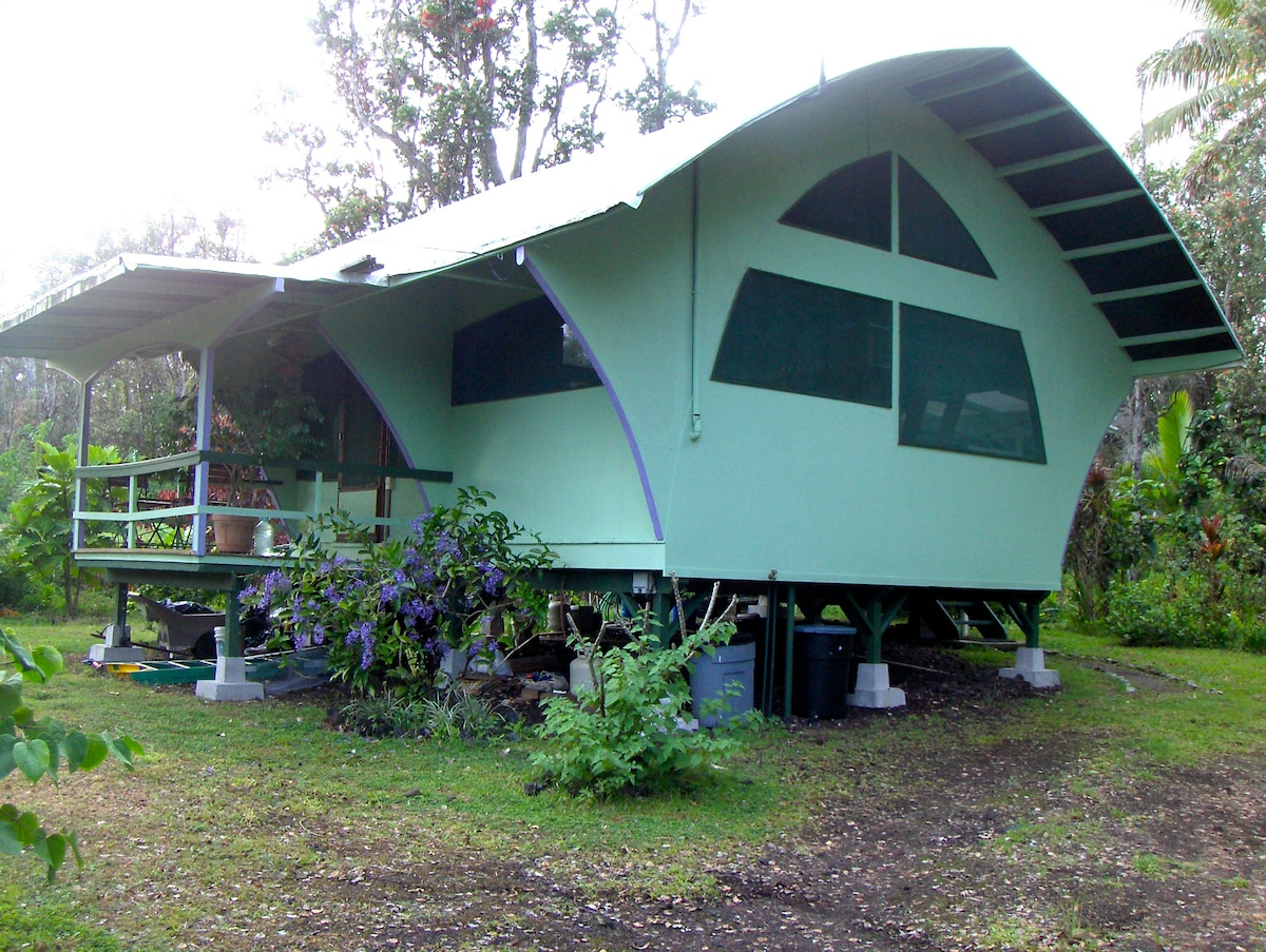 The cabin offers lots of privacy
