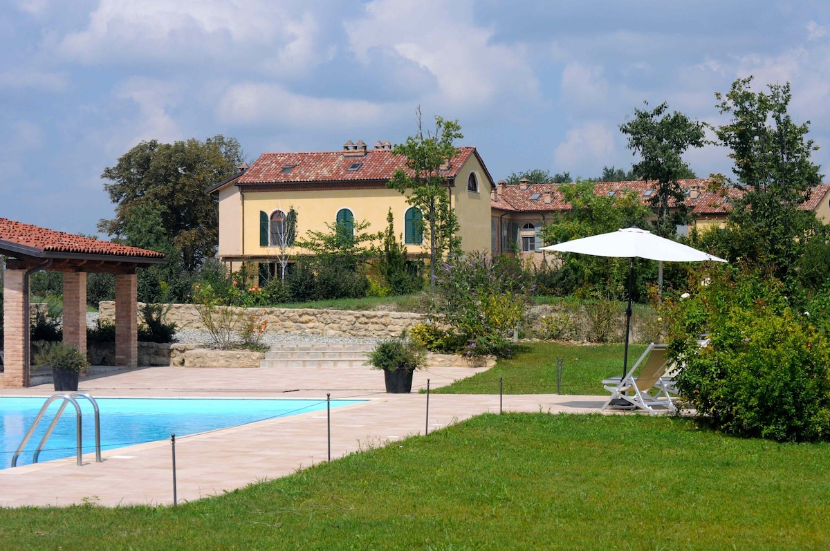 Monferrato: Apartment in farmhouse