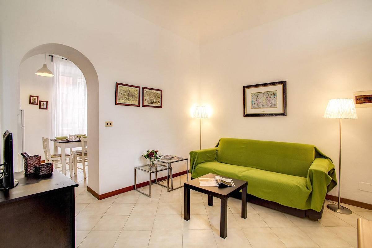 Colosseo 2 bedroom walking distance