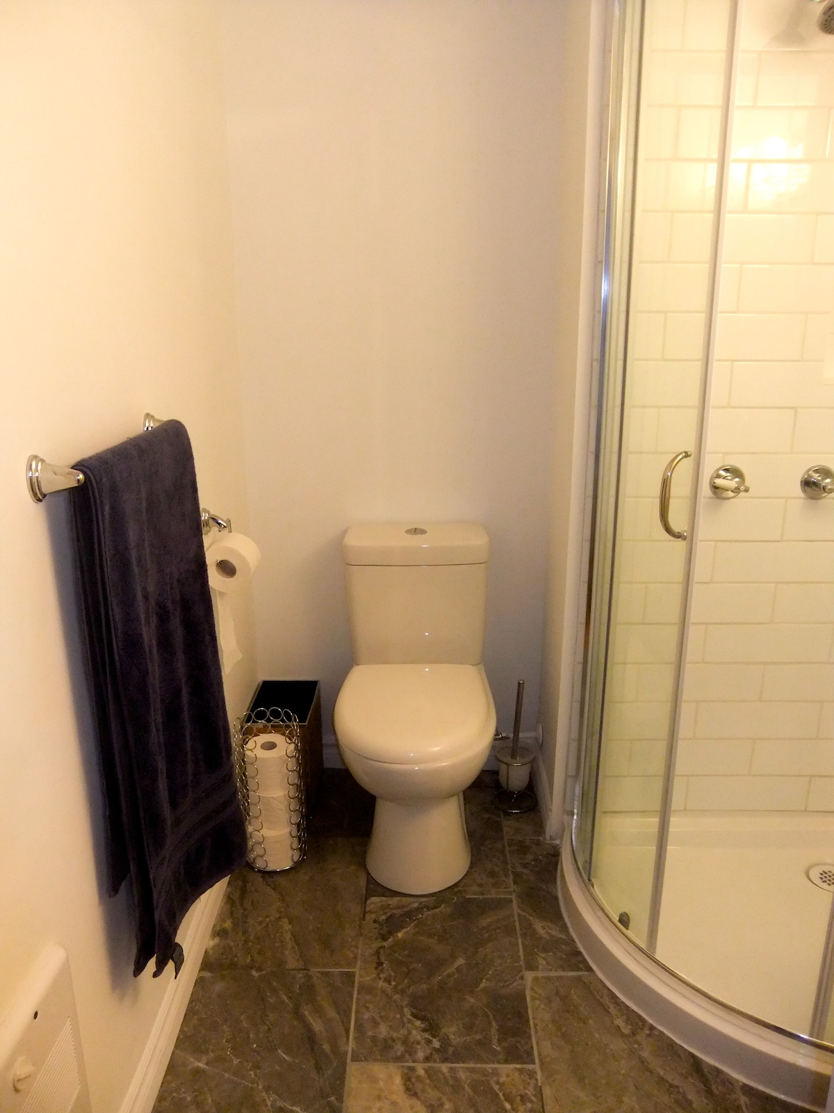 Private bathroom (newly renovated!)