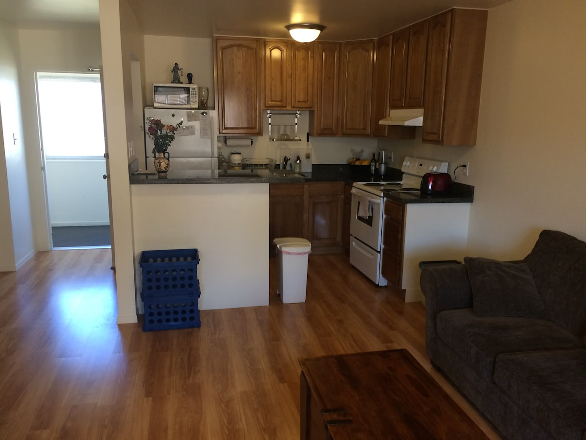 Large Mission Apartment w/ Office