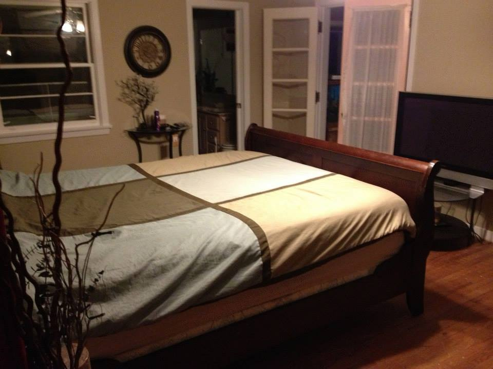 Timberland bedroom with Spa Ensuite