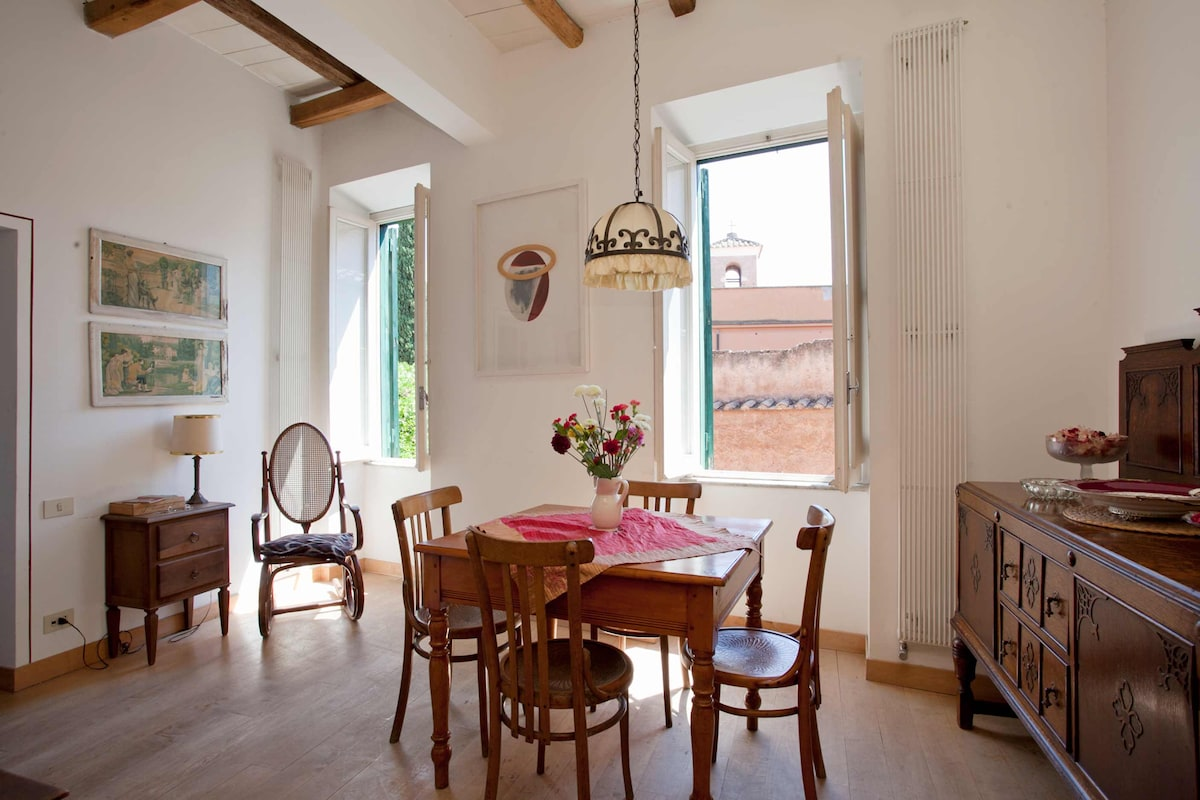 Charming 2 bedroom in Trastevere