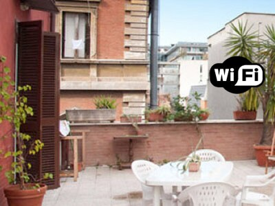 HUGE SUNNY TERRACE with Wi-Fi