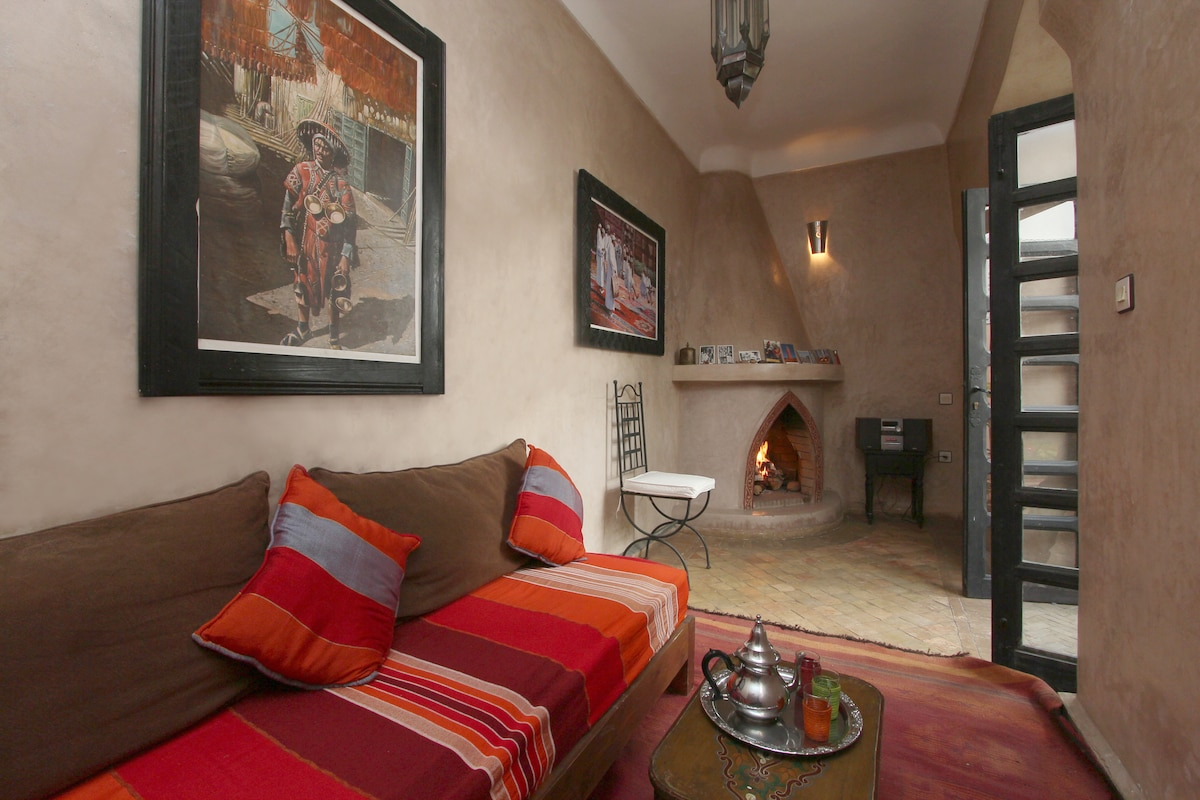 riad 10 pers. medina of Marrakech,