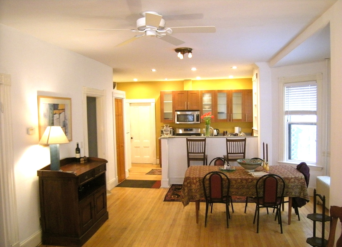 Lovely 2BR Apt close to Harvard Sq.