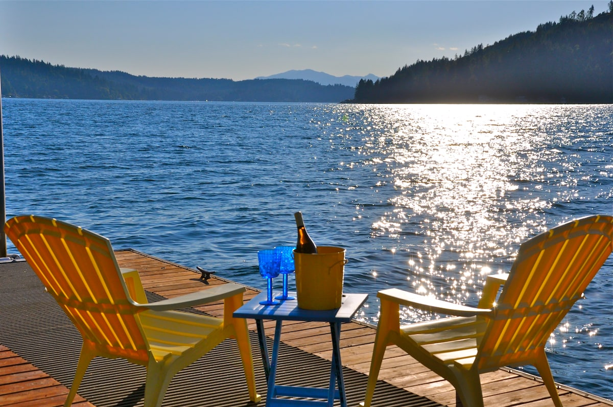 """Welcome to Pebble Beach Place. View From Dock. """"Our Place is Your Place"""""""