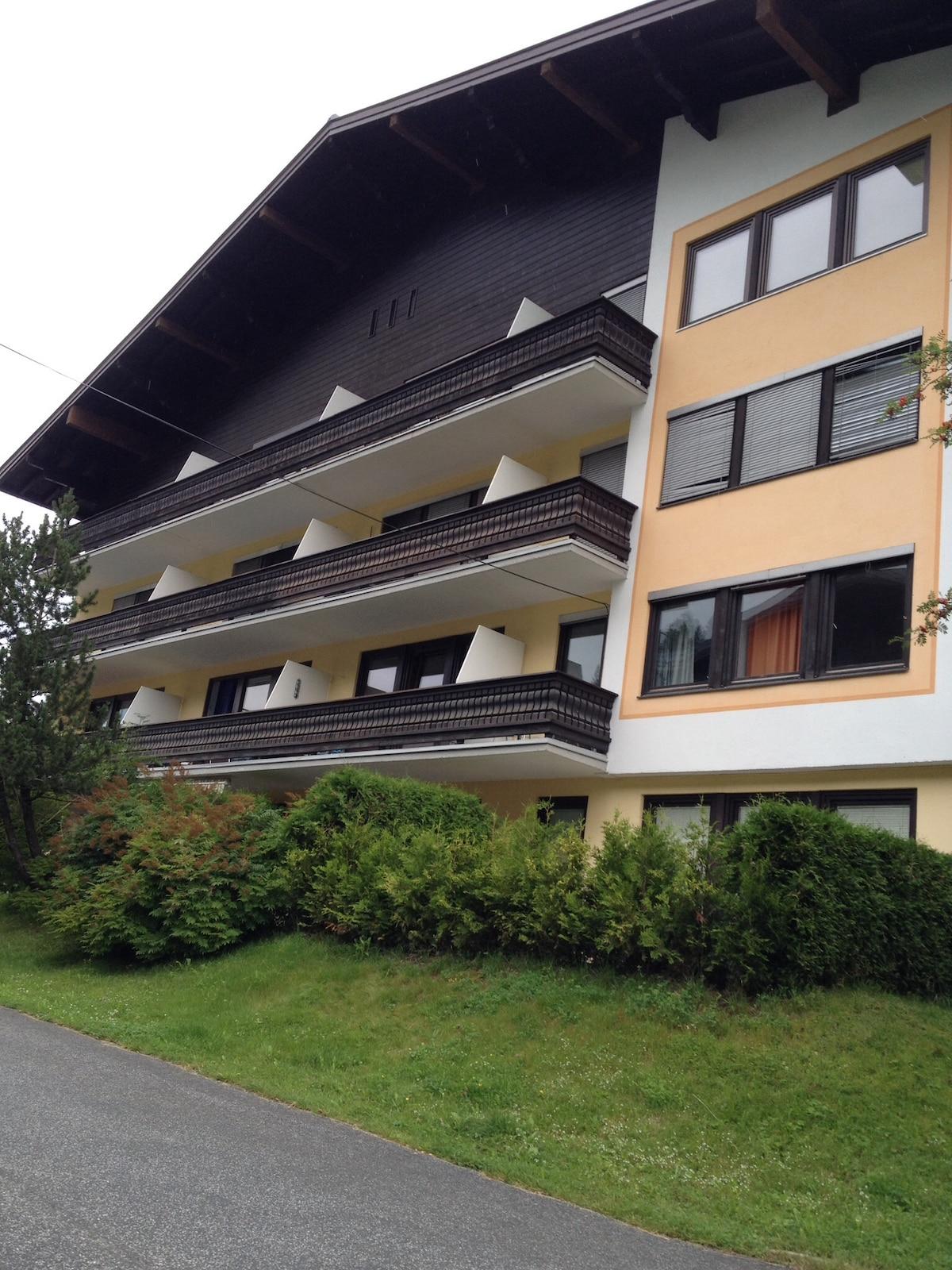 Saalbach ground floor apartment