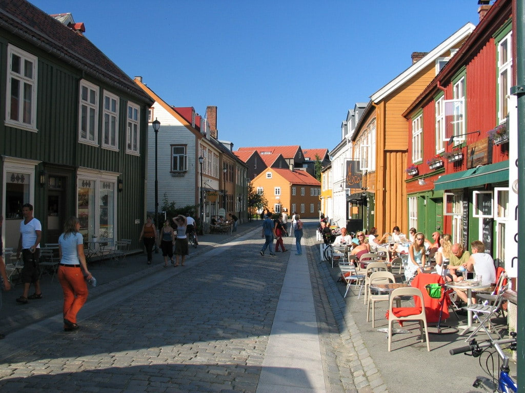 Big room in Trondheim´s old town
