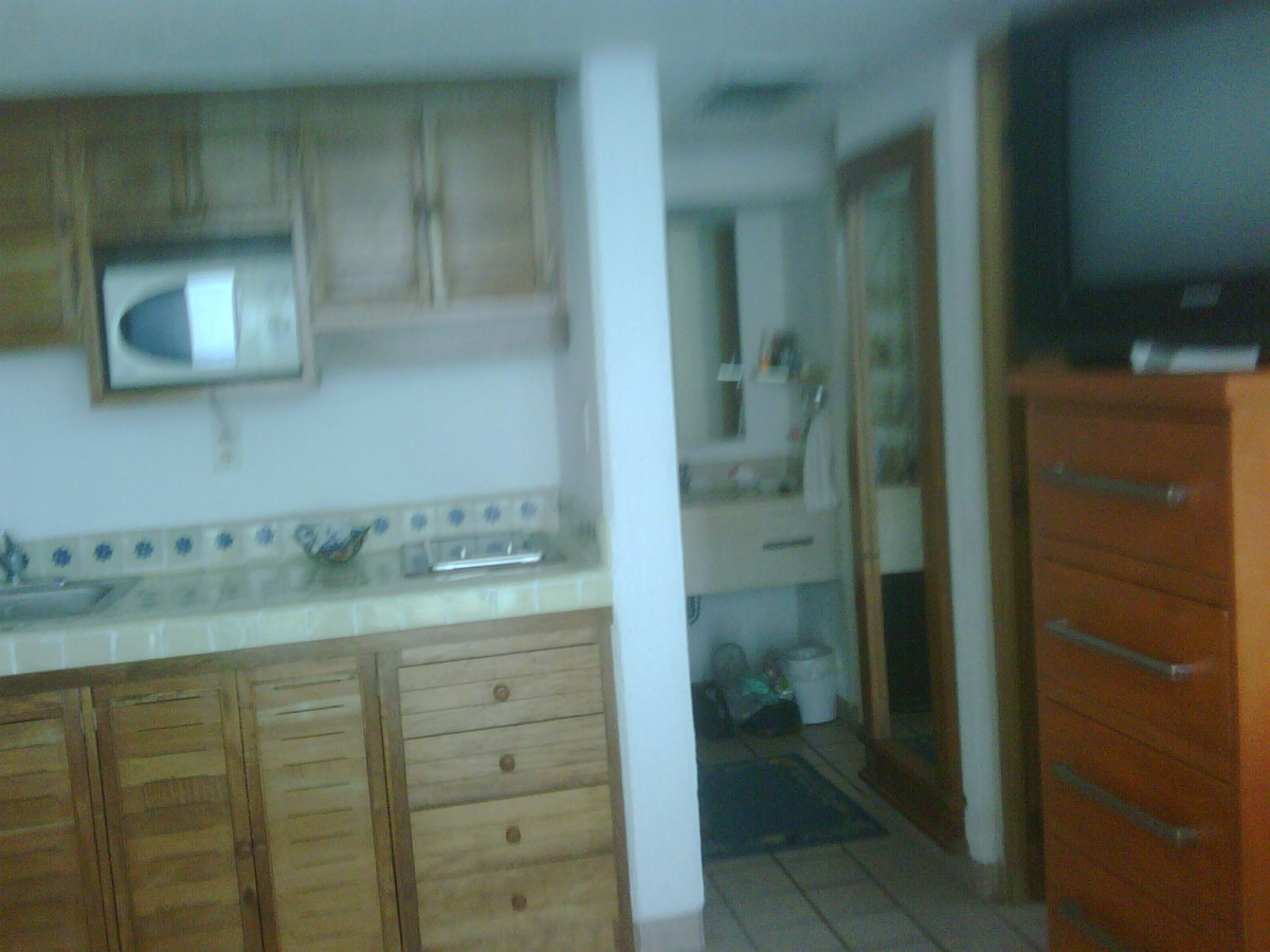 Your 2nd TV, ample closet space for clothes, full length mirror, & bathroom. You have everything!
