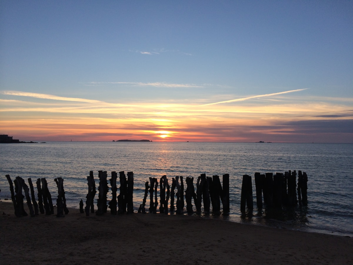 Coucher de soleil Breton