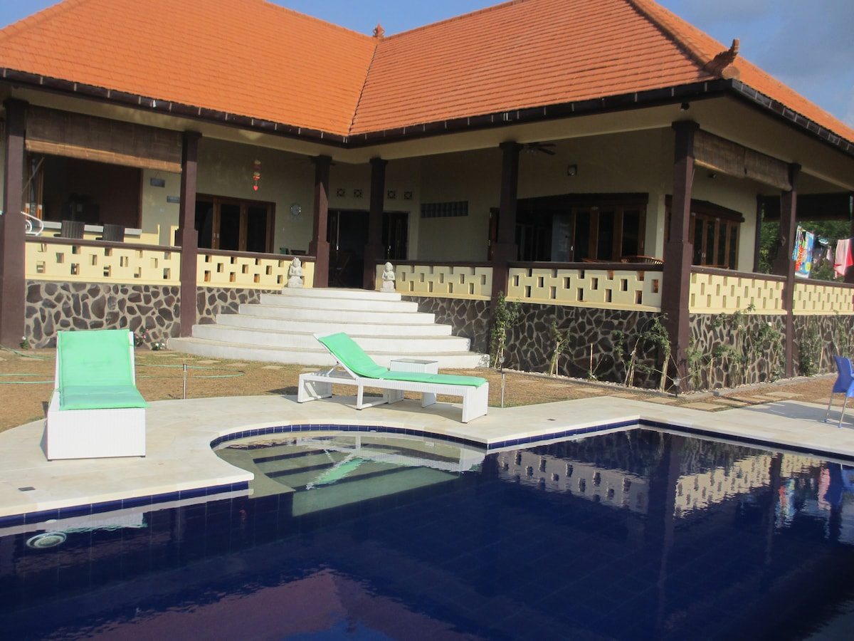 Beautiful new villa in  Lovina