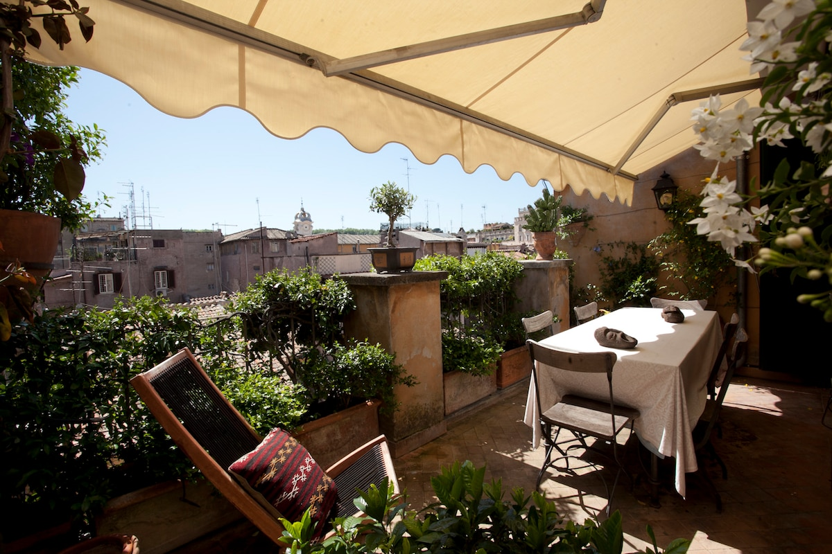Splendid Penthouse Rome City Center