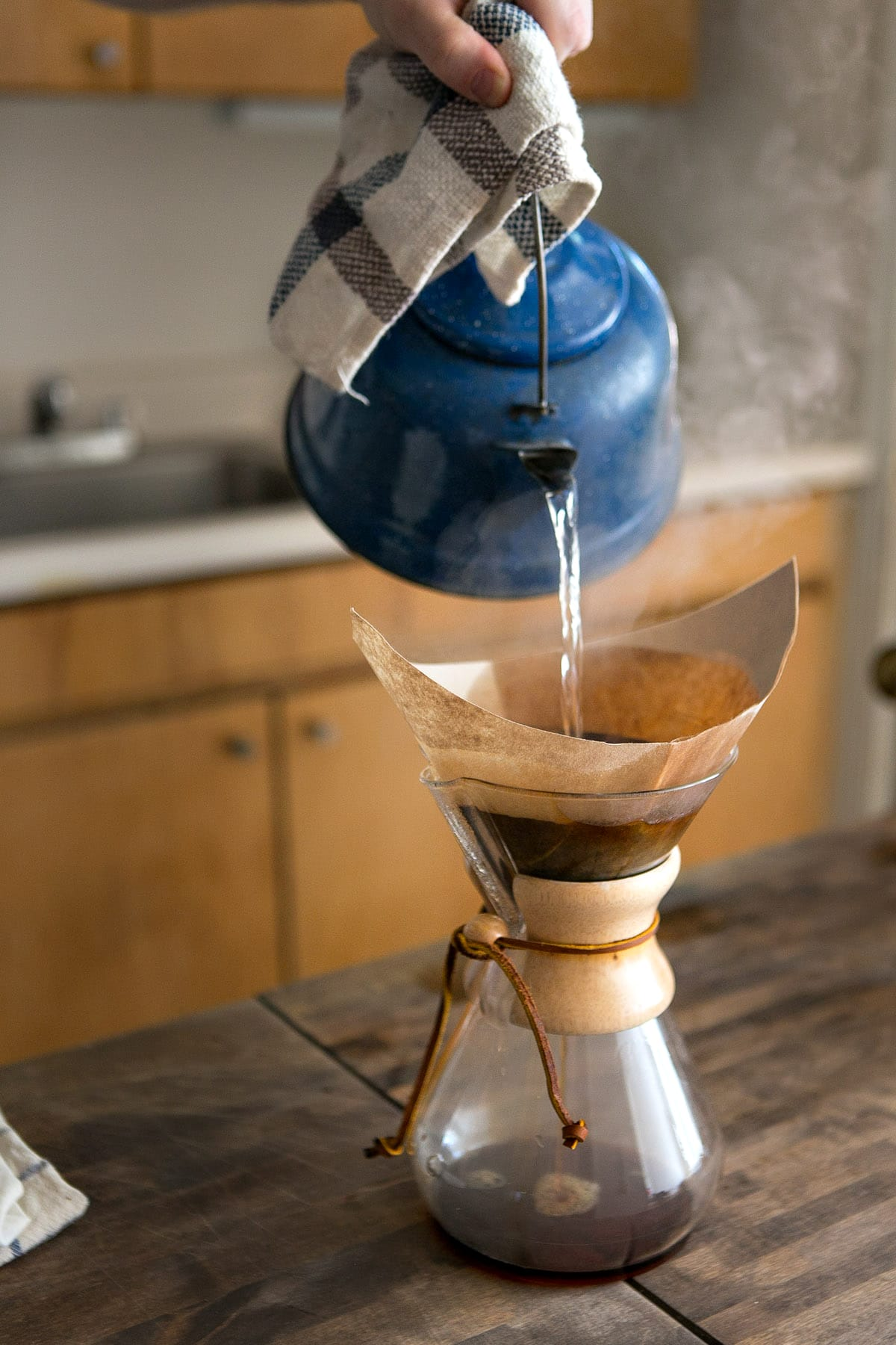 Chemex coffee in the morning