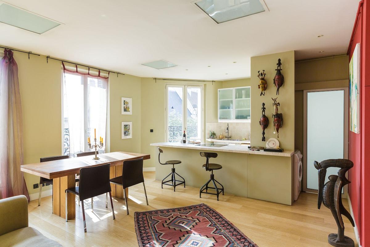 excellent apartment in Le Marais