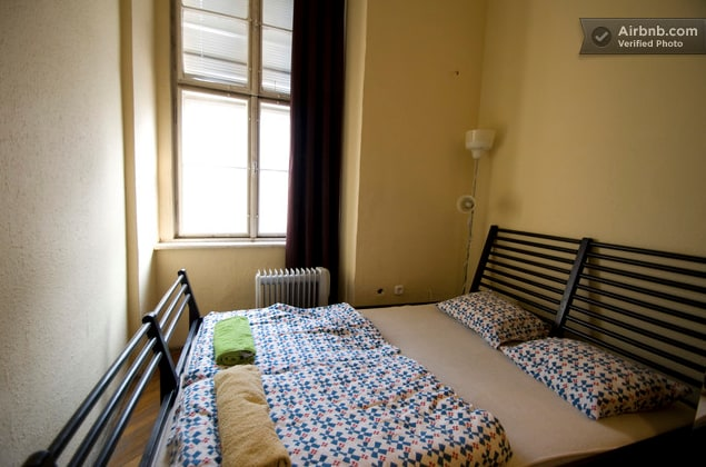 the bedroom is equipped with super comfortable double beds