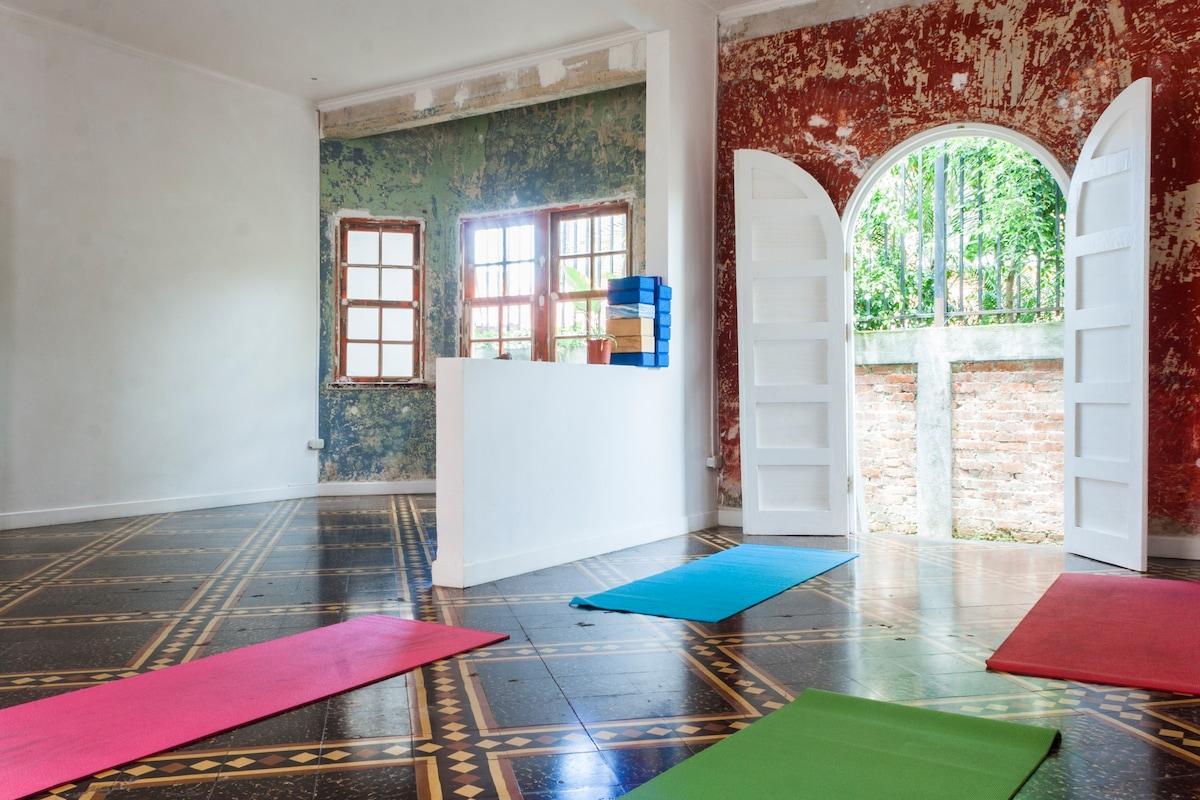 principal yoga classroom