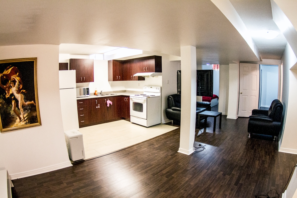 Entire Private Suite With Kitchen