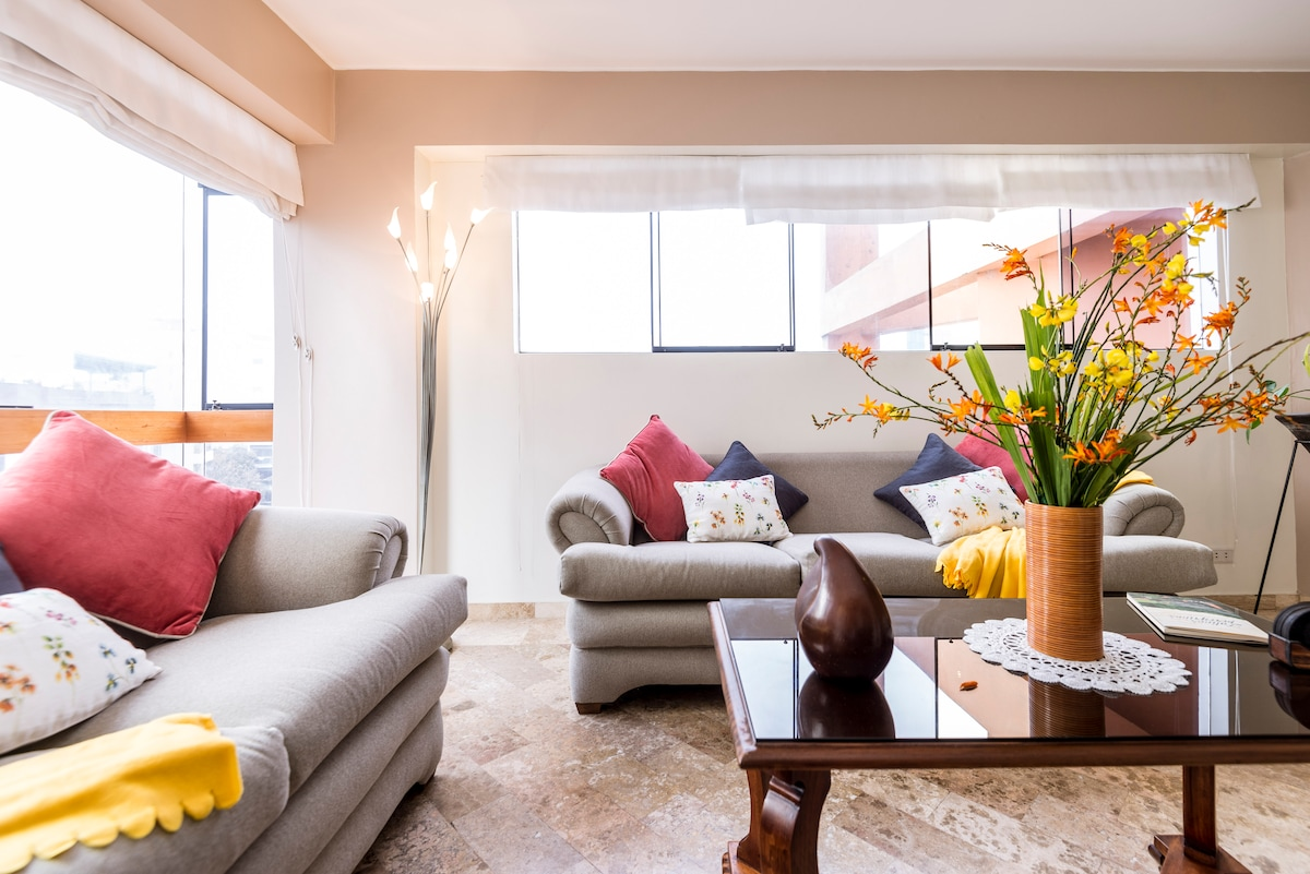 Beautiful apartment in Miraflores