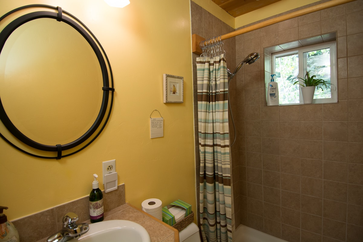 Your own bathroom right next to your bedroom
