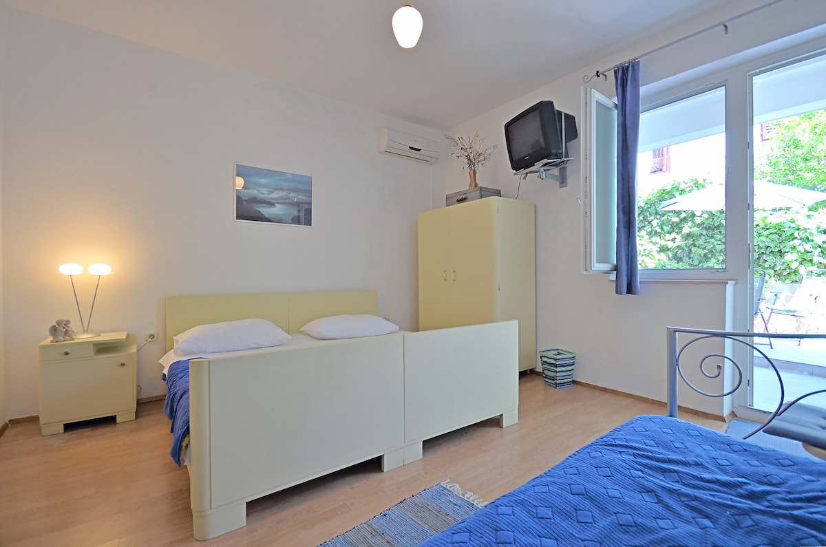 Studio apartment for 2+1 person with TV, air condition, kitchen, free wifi...