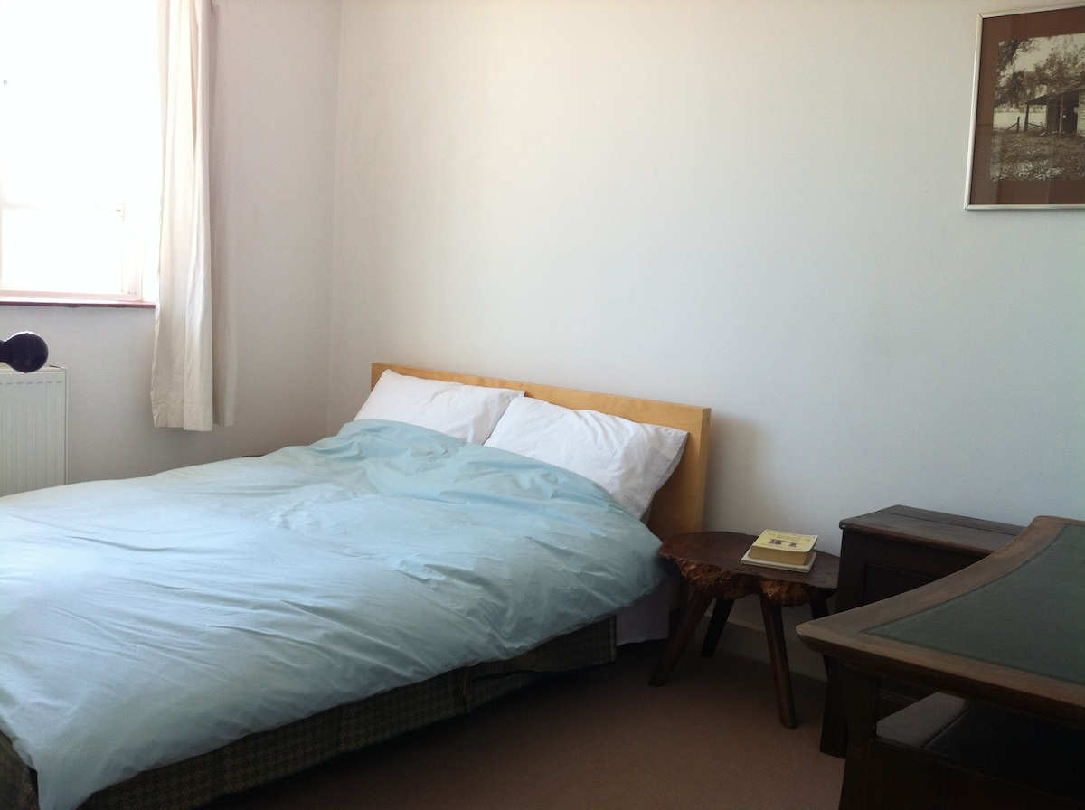This is the room with a very comfortable double bed